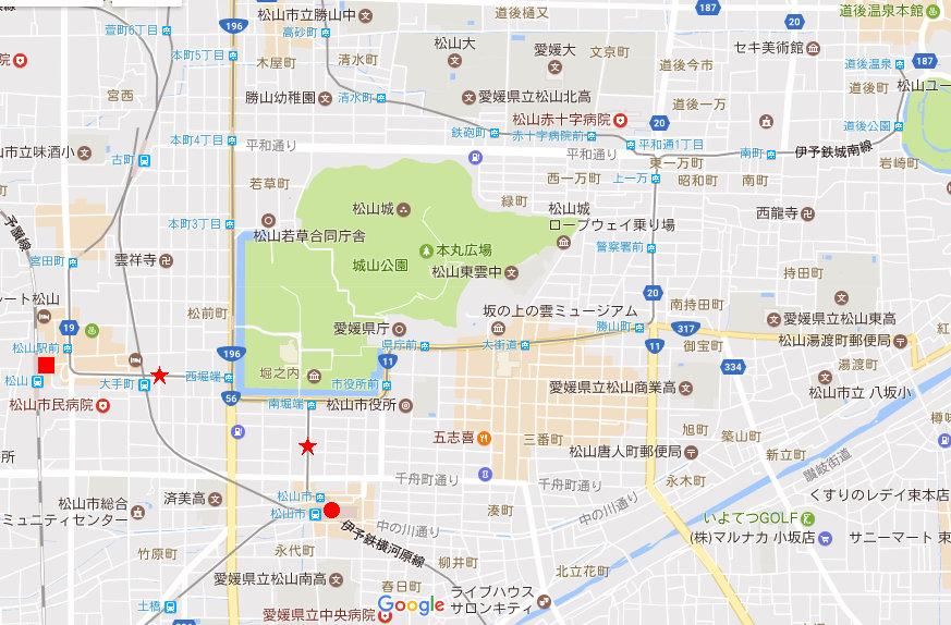 行くぞ!松山2016冬その2・到着-7230