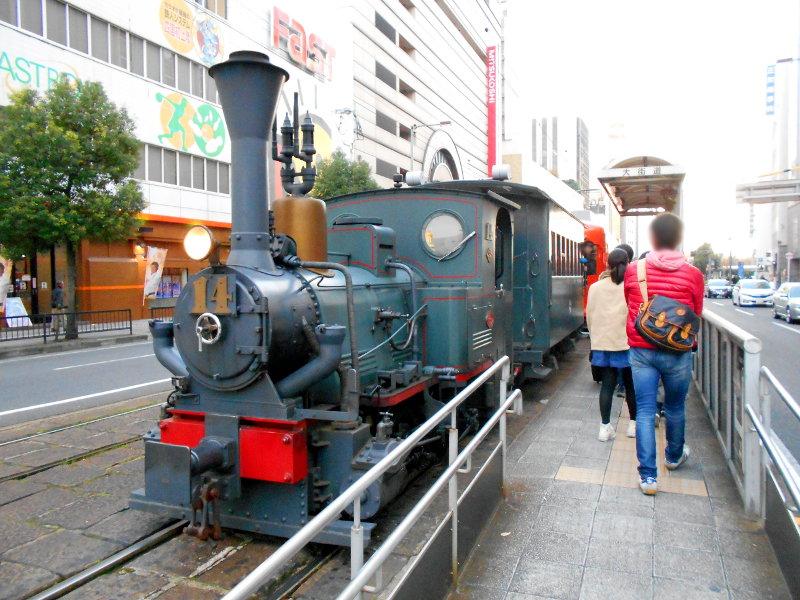 行くぞ!松山2016冬その5・商店街と坊っちゃん列車-7518