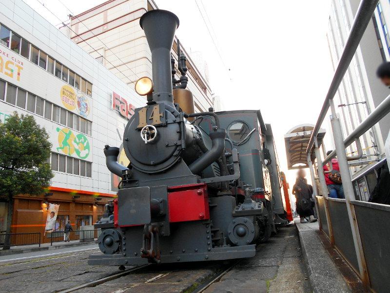 行くぞ!松山2016冬その5・商店街と坊っちゃん列車-7519