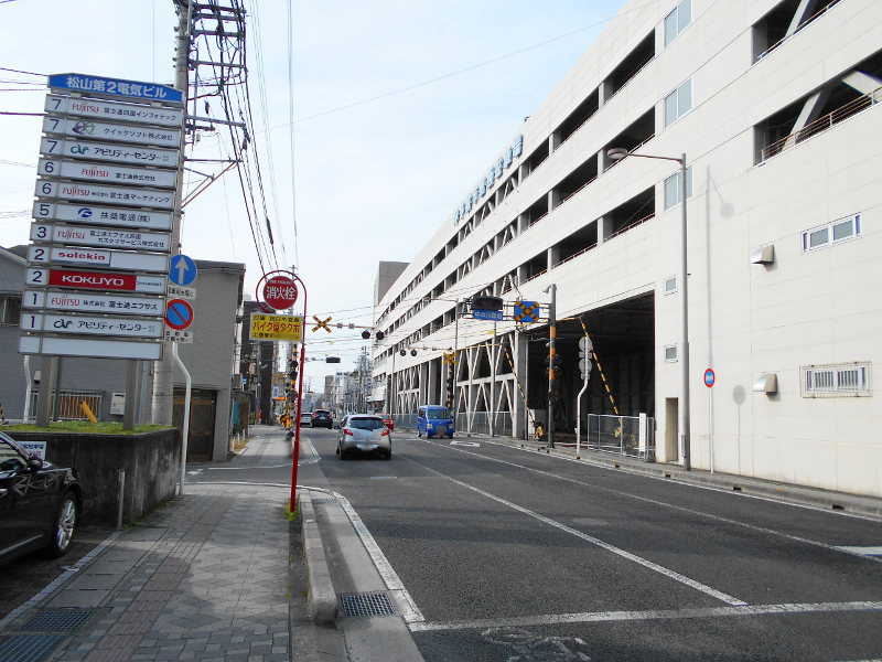行くぞ!松山2016冬その17・市駅から松山駅へ(大手町駅の平面交差)-8707