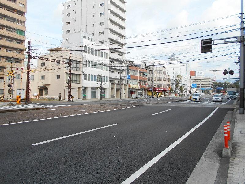 行くぞ!松山2016冬その17・市駅から松山駅へ(大手町駅の平面交差)-8728