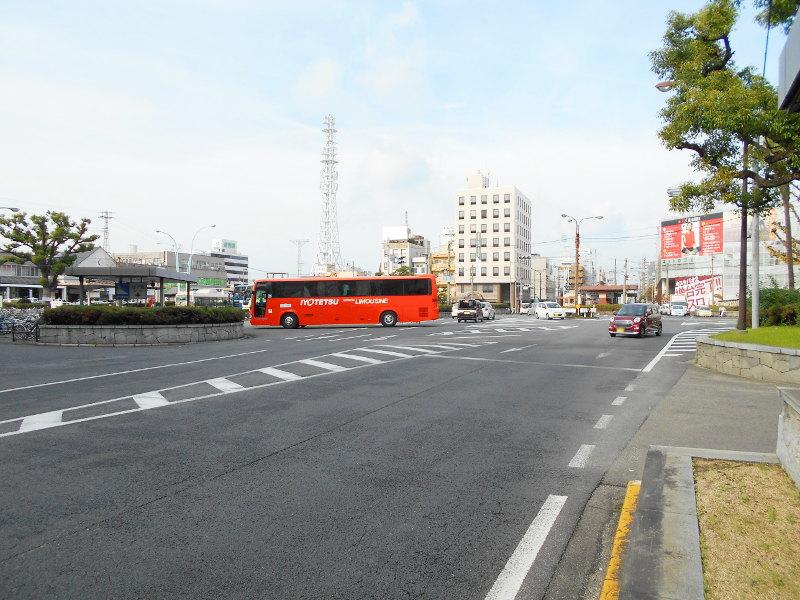 行くぞ!松山2016冬その17・市駅から松山駅へ(大手町駅の平面交差)-8742