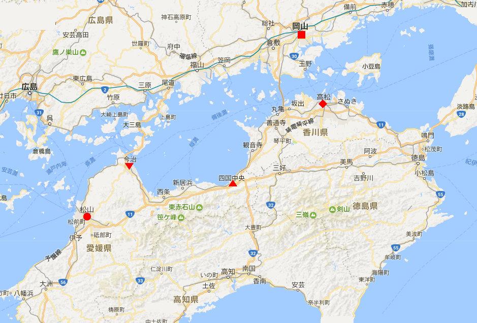 行くぞ!松山2016冬その19・いしづち22号で夕景を観ながら高松へ-8902