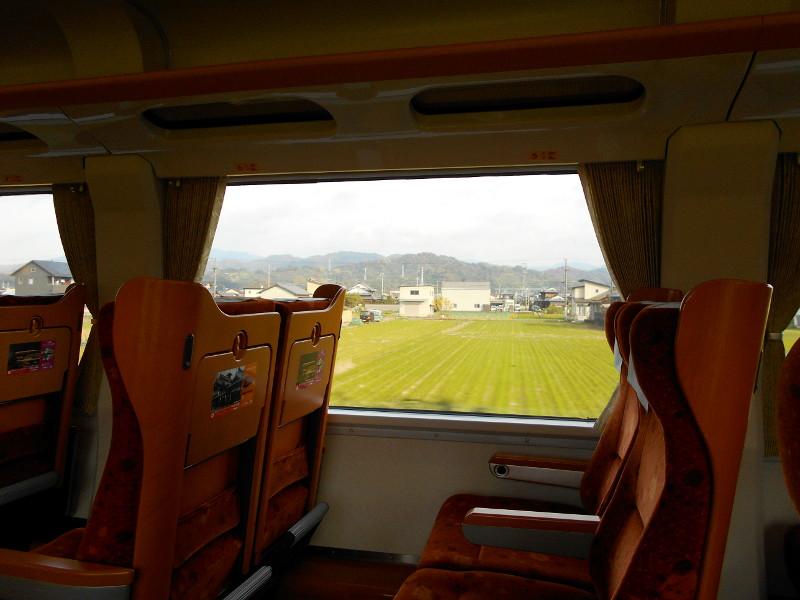行くぞ!松山2016冬その19・いしづち22号で夕景を観ながら高松へ-8916