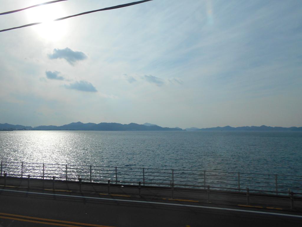 行くぞ!松山2016冬その19・いしづち22号で夕景を観ながら高松へ-8920