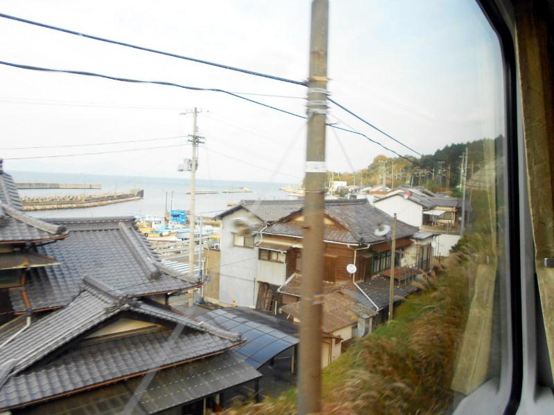 行くぞ!松山2016冬その19・いしづち22号で夕景を観ながら高松へ-8921