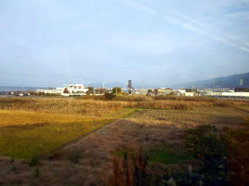 行くぞ!松山2016冬その19・いしづち22号で夕景を観ながら高松へ-8926