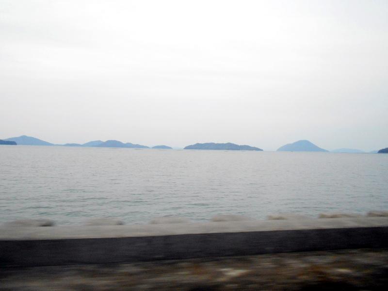 行くぞ!松山2016冬その19・いしづち22号で夕景を観ながら高松へ-8930