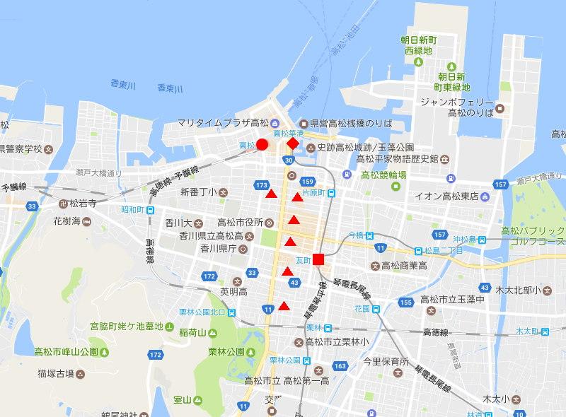 行くぞ!松山2016冬その20・クリスマスの高松アーケード街-9004