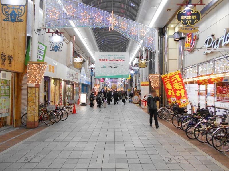行くぞ!松山2016冬その20・クリスマスの高松アーケード街-9019