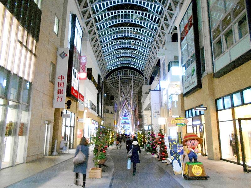 行くぞ!松山2016冬その20・クリスマスの高松アーケード街-9024
