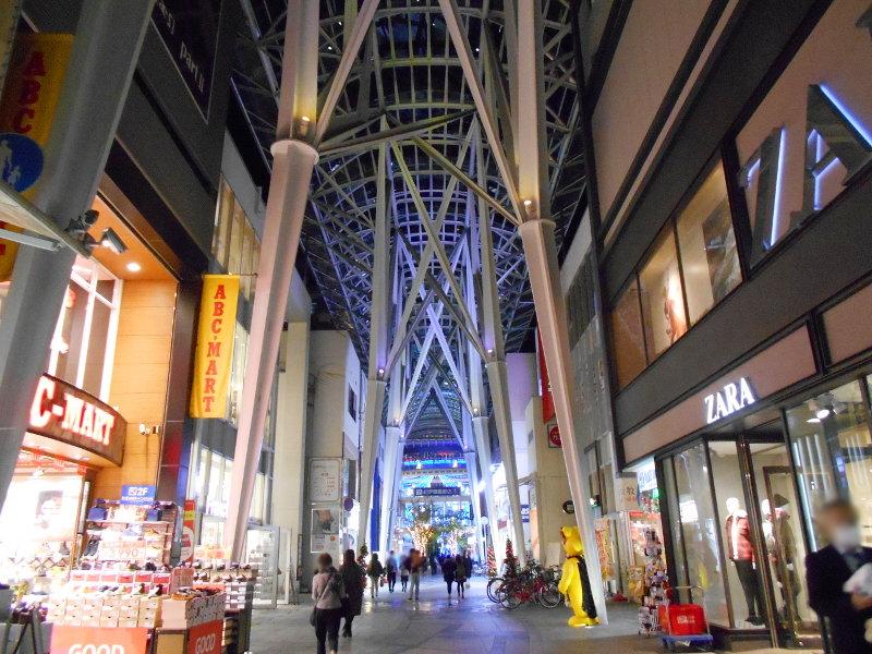 行くぞ!松山2016冬その20・クリスマスの高松アーケード街-9025