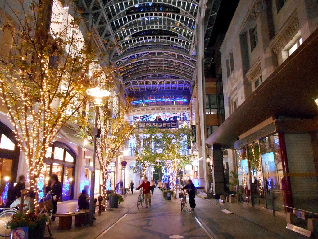 行くぞ!松山2016冬その20・クリスマスの高松アーケード街-9026
