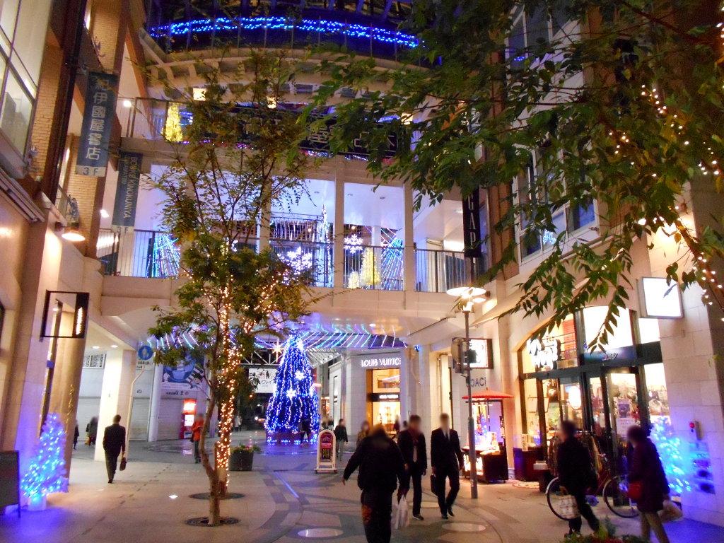 行くぞ!松山2016冬その20・クリスマスの高松アーケード街-9028