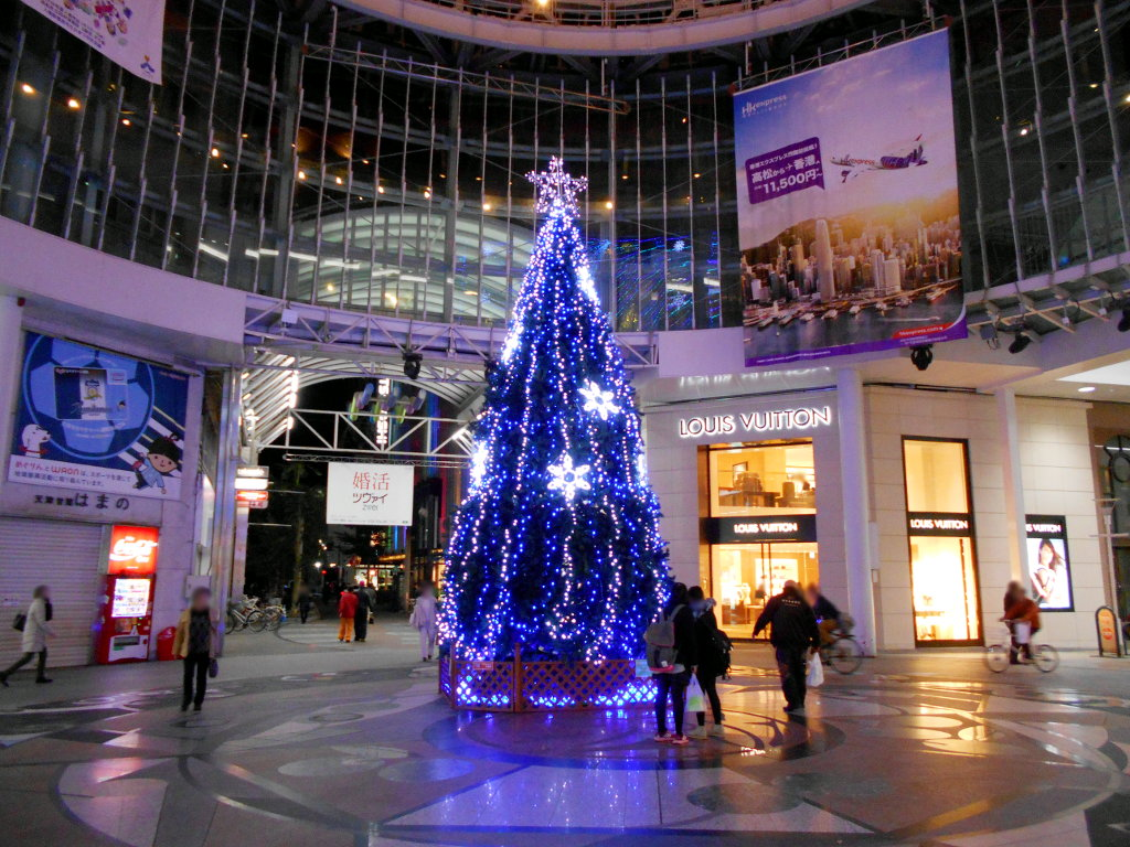 行くぞ!松山2016冬その20・クリスマスの高松アーケード街-9029