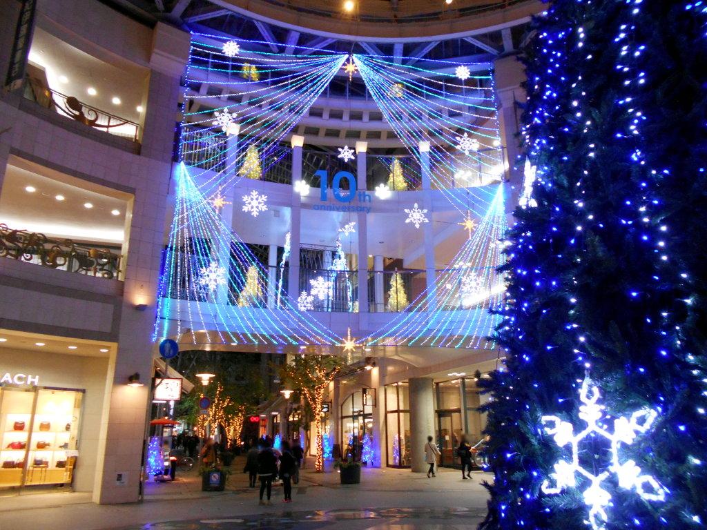 行くぞ!松山2016冬その20・クリスマスの高松アーケード街-9030