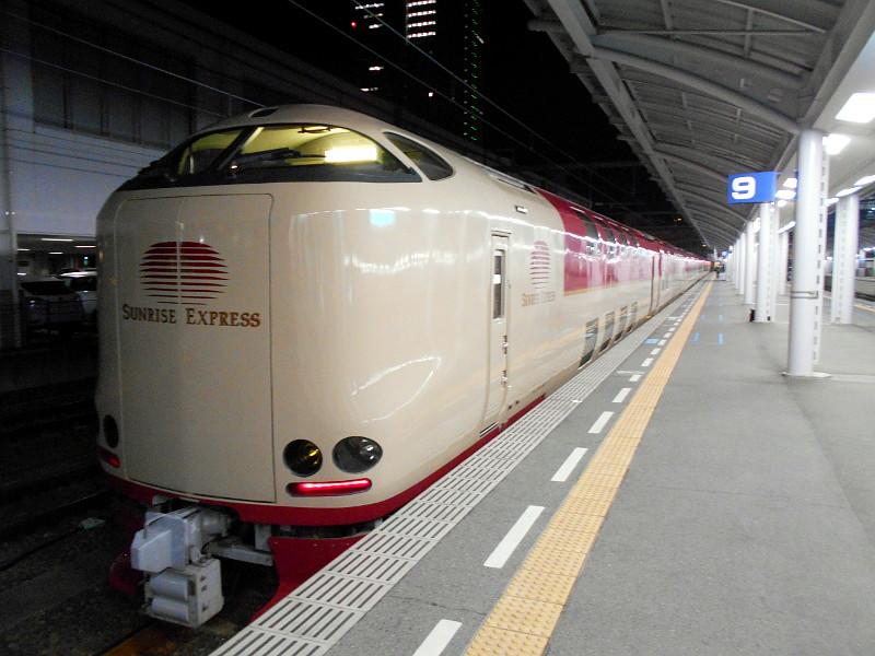 行くぞ!松山2016冬その21・寝台特急サンライズ瀬戸・前編-9111