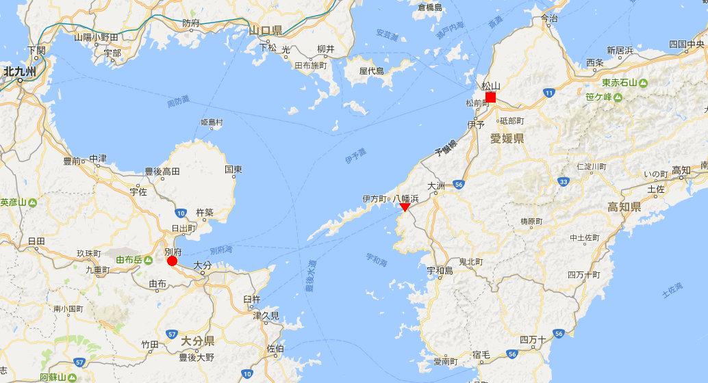 愛媛・八幡浜から松山へ2006-4101
