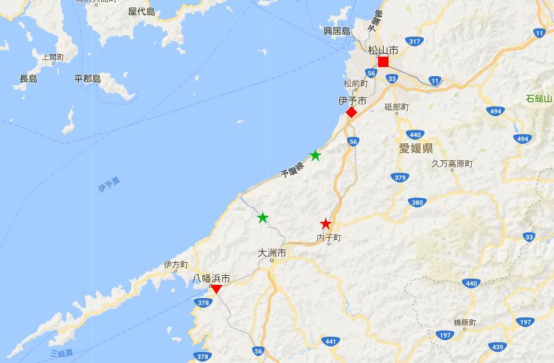 愛媛・八幡浜から松山へ2006-4107