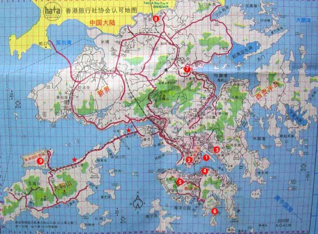 シルクロード一人旅「我的長征2006」その2・香港・観光とグルメ-0201