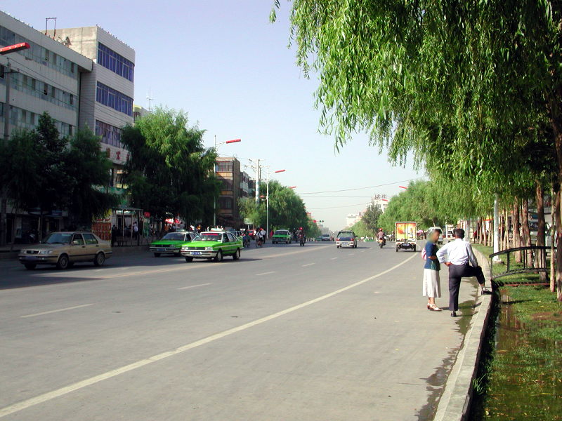 シルクロード一人旅「我的長征2006」その8・カシュガル・老城を歩く-0807