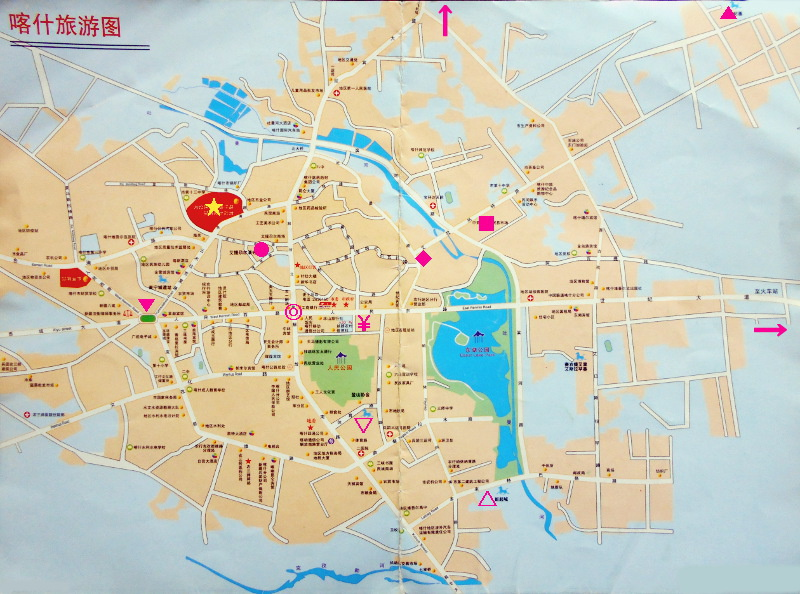 シルクロード一人旅「我的長征2006」その8・カシュガル・老城を歩く-0809