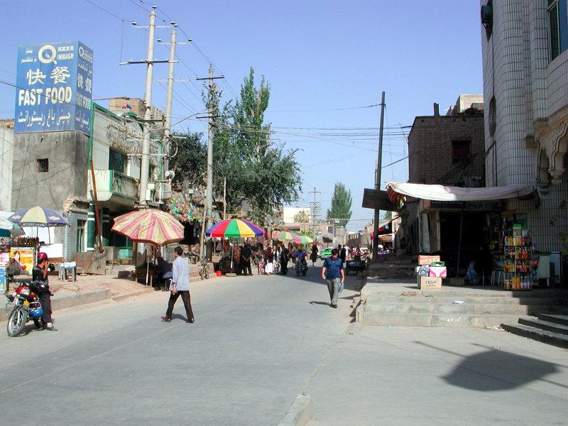 シルクロード一人旅「我的長征2006」その8・カシュガル・老城を歩く-0811
