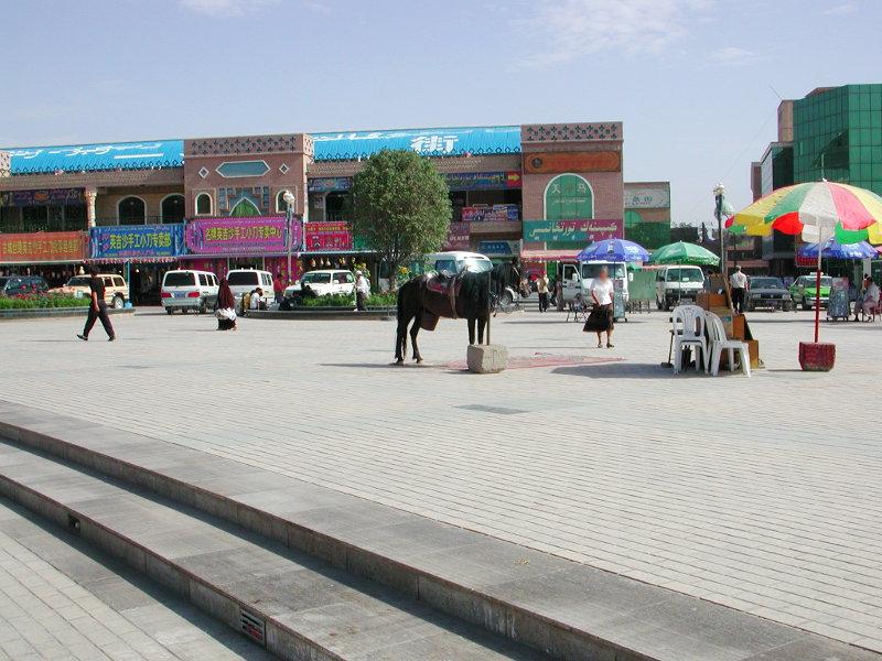 シルクロード一人旅「我的長征2006」その8・カシュガル・老城を歩く-0812