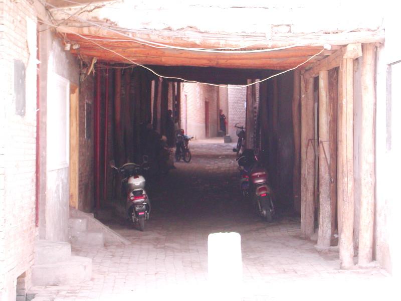 シルクロード一人旅「我的長征2006」その8・カシュガル・老城を歩く-0822