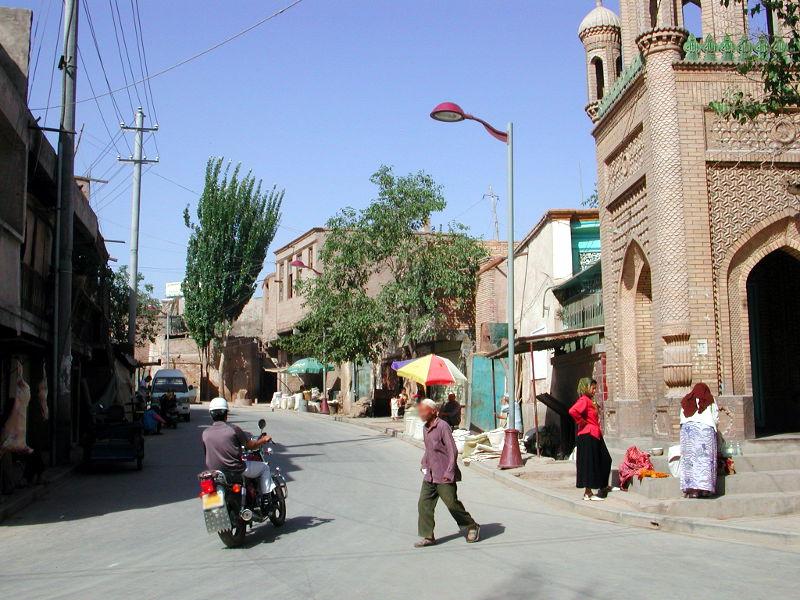 シルクロード一人旅「我的長征2006」その8・カシュガル・老城を歩く-0823