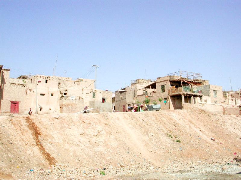 シルクロード一人旅「我的長征2006」その8・カシュガル・老城を歩く-0826