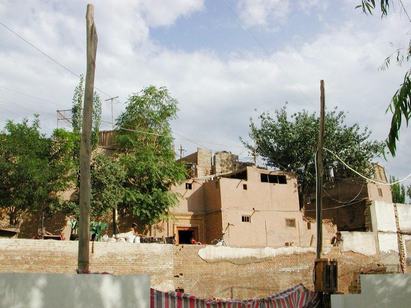 シルクロード一人旅「我的長征2006」その8・カシュガル・老城を歩く-0839