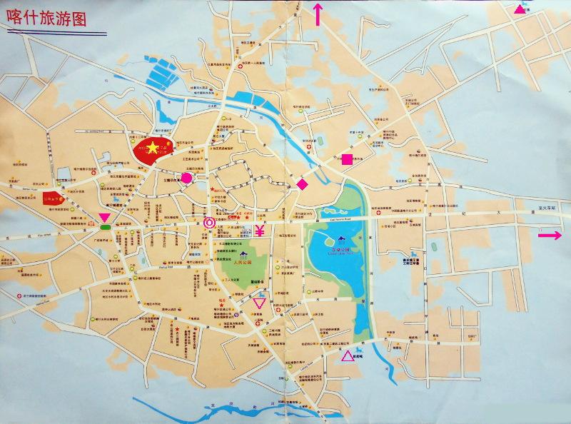 シルクロード一人旅「我的長征2006」その9・カシュガル・香妃墓と並木道-0903