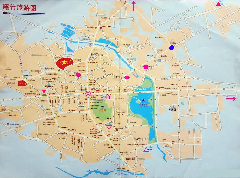 シルクロード一人旅「我的長征2006」その10・カシュガル・老城探検-1004
