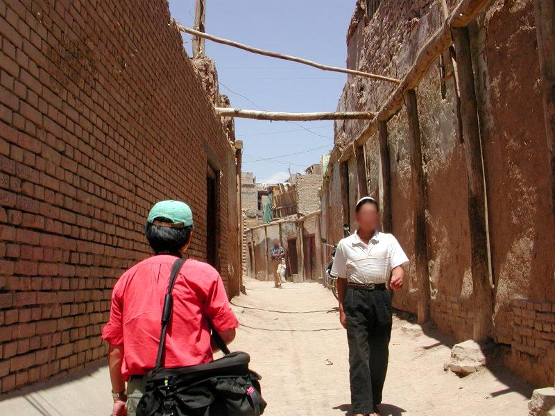 シルクロード一人旅「我的長征2006」その10・カシュガル・老城探検-1016