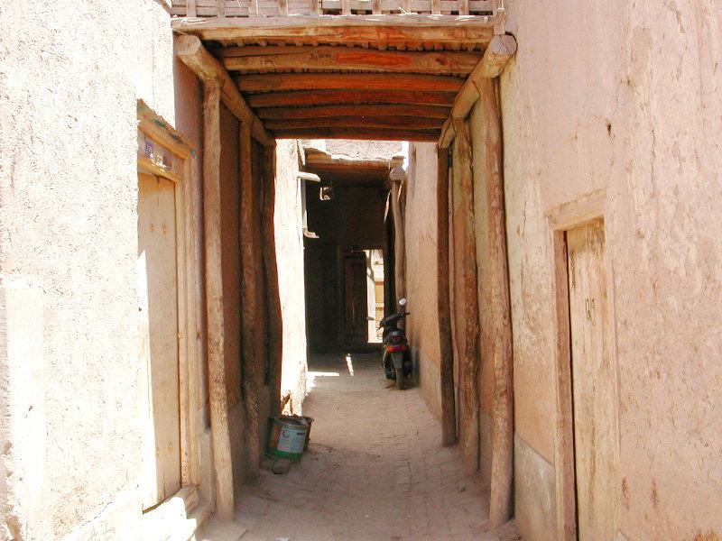 シルクロード一人旅「我的長征2006」その10・カシュガル・老城探検-1017