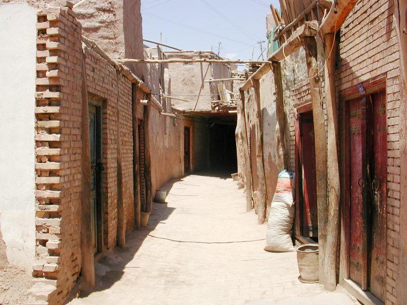 シルクロード一人旅「我的長征2006」その10・カシュガル・老城探検-1018