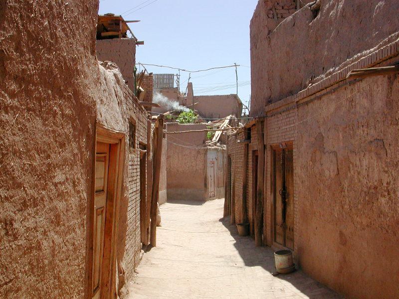 シルクロード一人旅「我的長征2006」その10・カシュガル・老城探検-1019