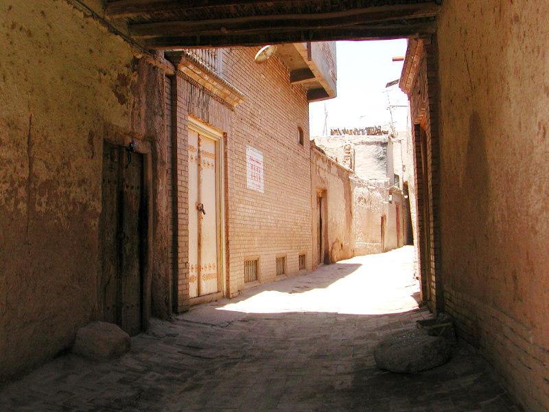 シルクロード一人旅「我的長征2006」その10・カシュガル・老城探検-1020