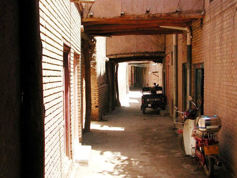 シルクロード一人旅「我的長征2006」その10・カシュガル・老城探検-1022