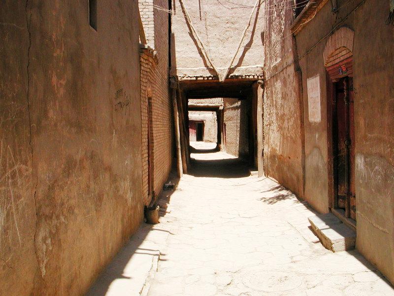 シルクロード一人旅「我的長征2006」その10・カシュガル・老城探検-1024
