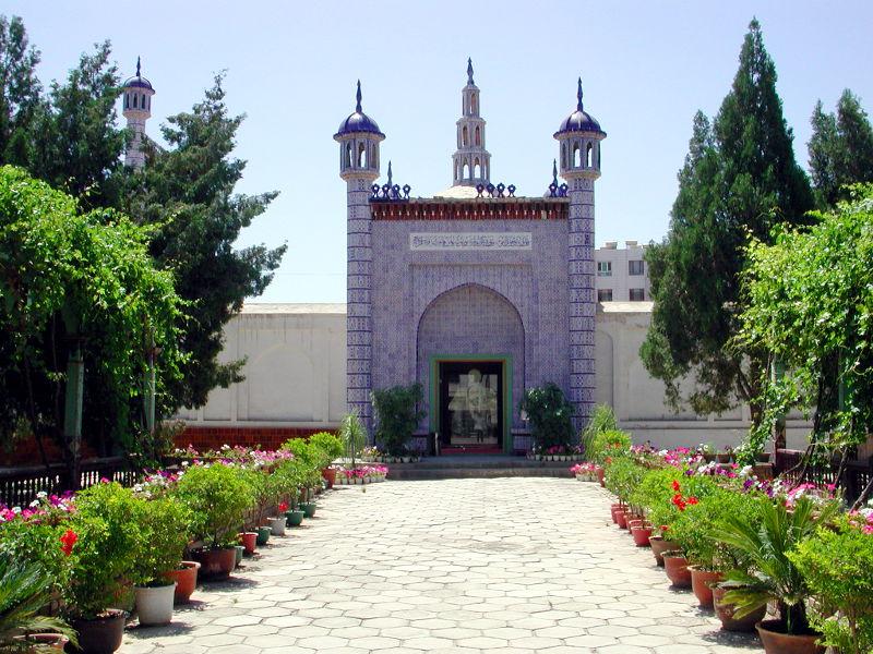 シルクロード一人旅「我的長征2006」その11・カシュガル・ユスフ-ハズ-ジャジェブ墓-1108