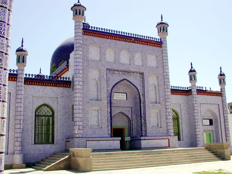シルクロード一人旅「我的長征2006」その11・カシュガル・ユスフ-ハズ-ジャジェブ墓-1109
