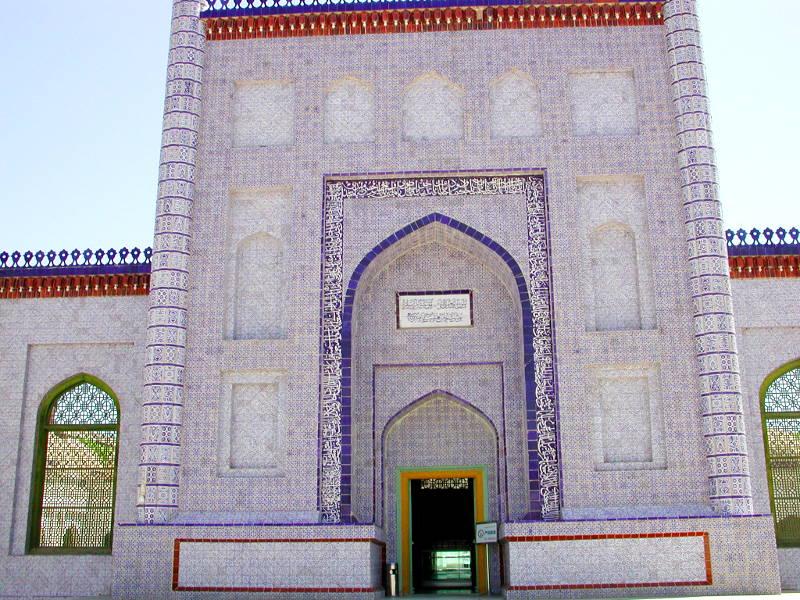 シルクロード一人旅「我的長征2006」その11・カシュガル・ユスフ-ハズ-ジャジェブ墓-1112
