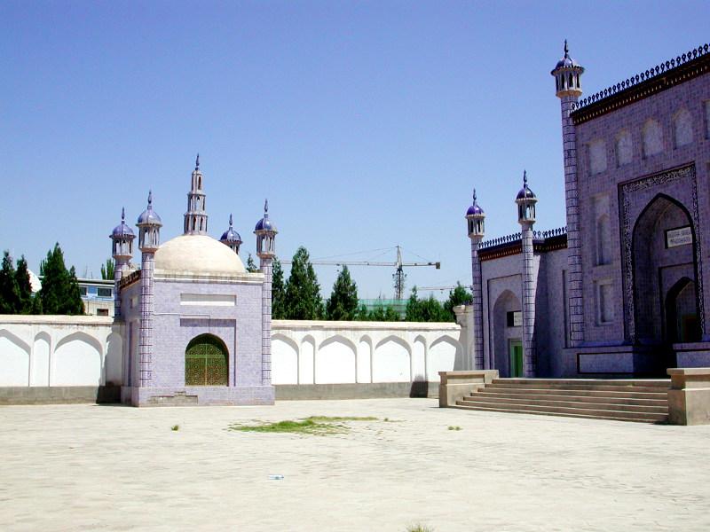 シルクロード一人旅「我的長征2006」その11・カシュガル・ユスフ-ハズ-ジャジェブ墓-1114