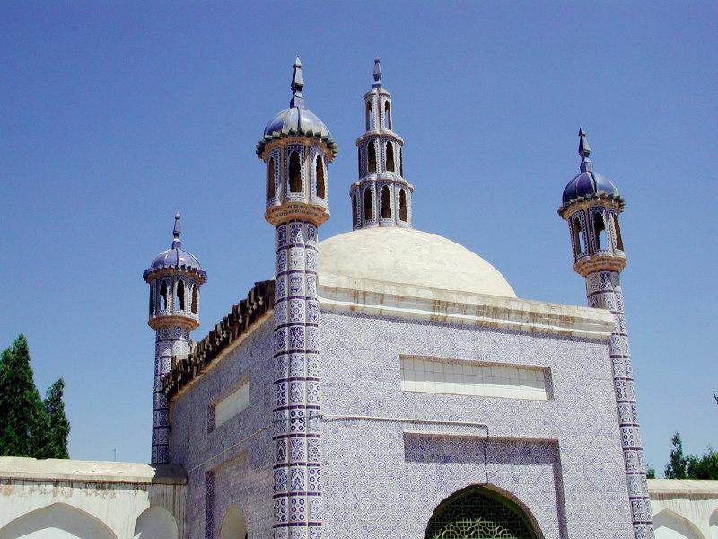 シルクロード一人旅「我的長征2006」その11・カシュガル・ユスフ-ハズ-ジャジェブ墓-1115
