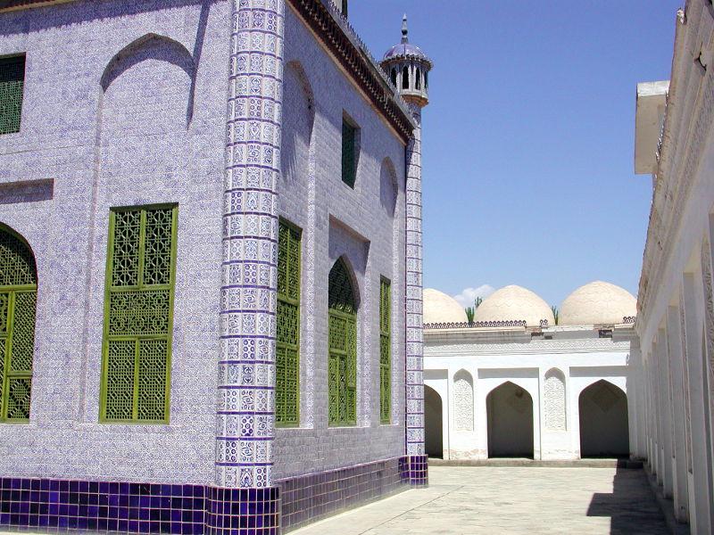 シルクロード一人旅「我的長征2006」その11・カシュガル・ユスフ-ハズ-ジャジェブ墓-1116