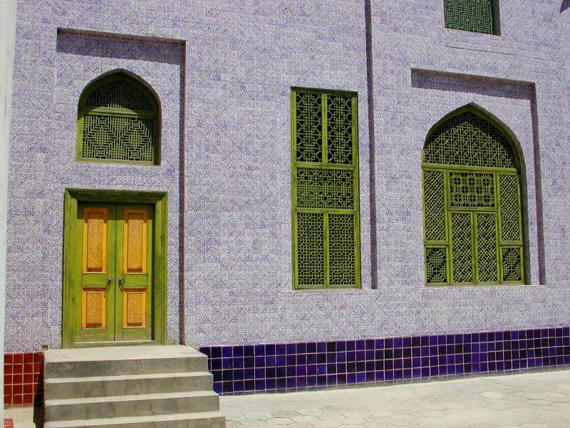 シルクロード一人旅「我的長征2006」その11・カシュガル・ユスフ-ハズ-ジャジェブ墓-1117