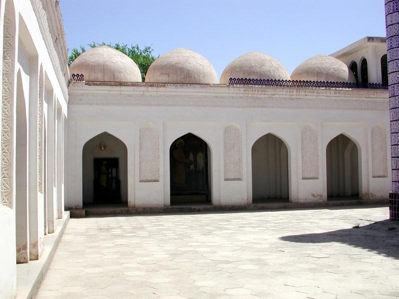 シルクロード一人旅「我的長征2006」その11・カシュガル・ユスフ-ハズ-ジャジェブ墓-1123