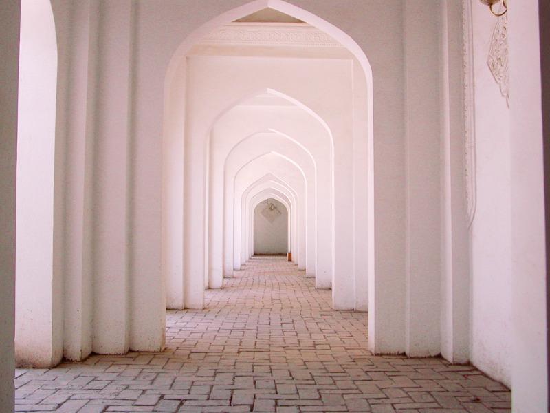 シルクロード一人旅「我的長征2006」その11・カシュガル・ユスフ-ハズ-ジャジェブ墓-1124